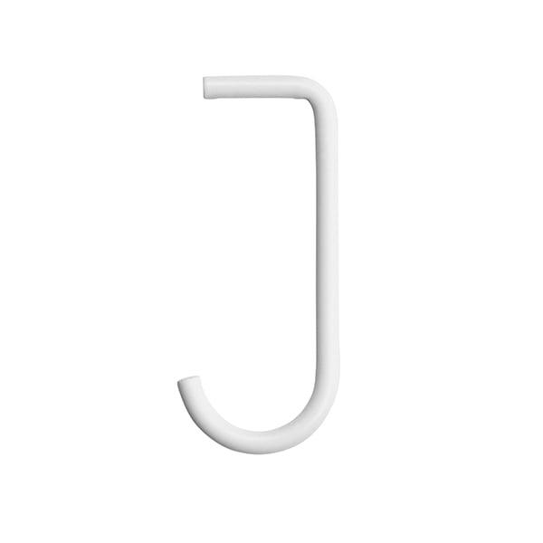 String Ganci String + per mensola metallica, set di 5, bianchi