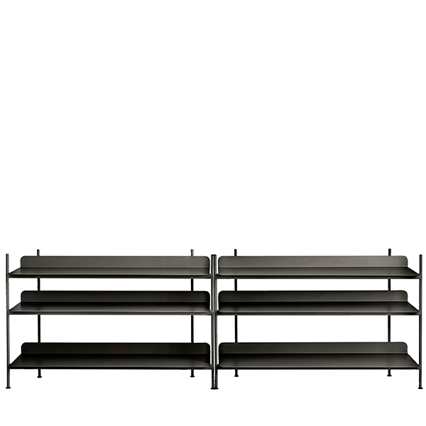 Muuto Compile shelf, Configuration 6, black
