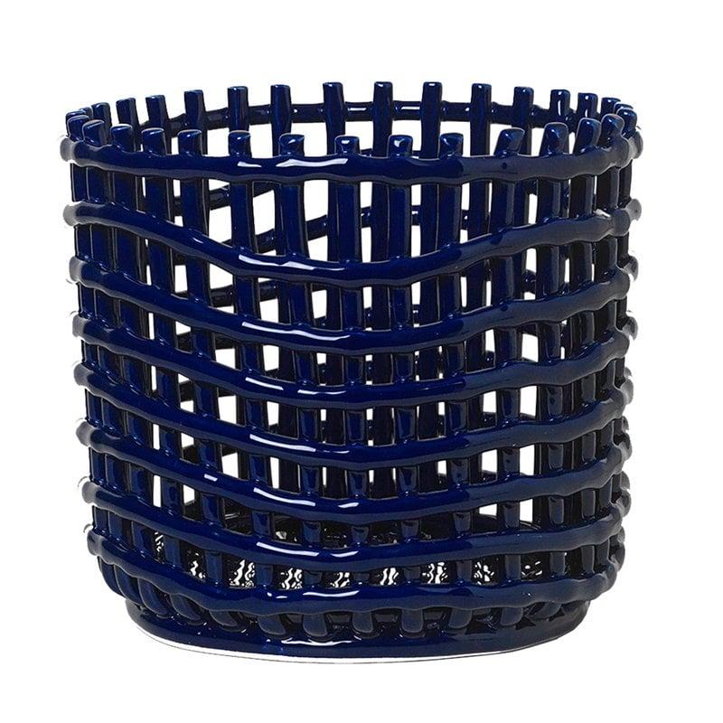Ferm Living Ceramic kori, L, sininen