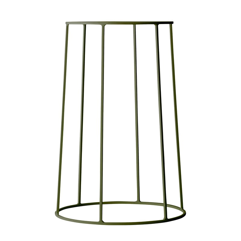 Menu Wire base, medium, olive