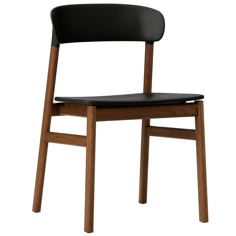 Normann Copenhagen Herit chair,  smoked oak - black