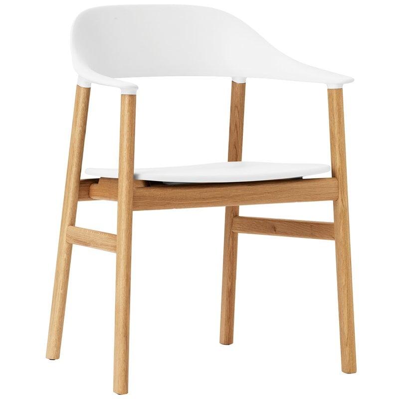 Normann Copenhagen Herit armchair, oak - white