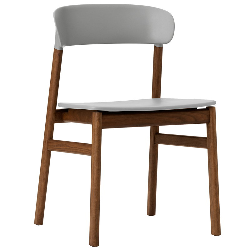 Normann Copenhagen Herit chair,  smoked oak - grey