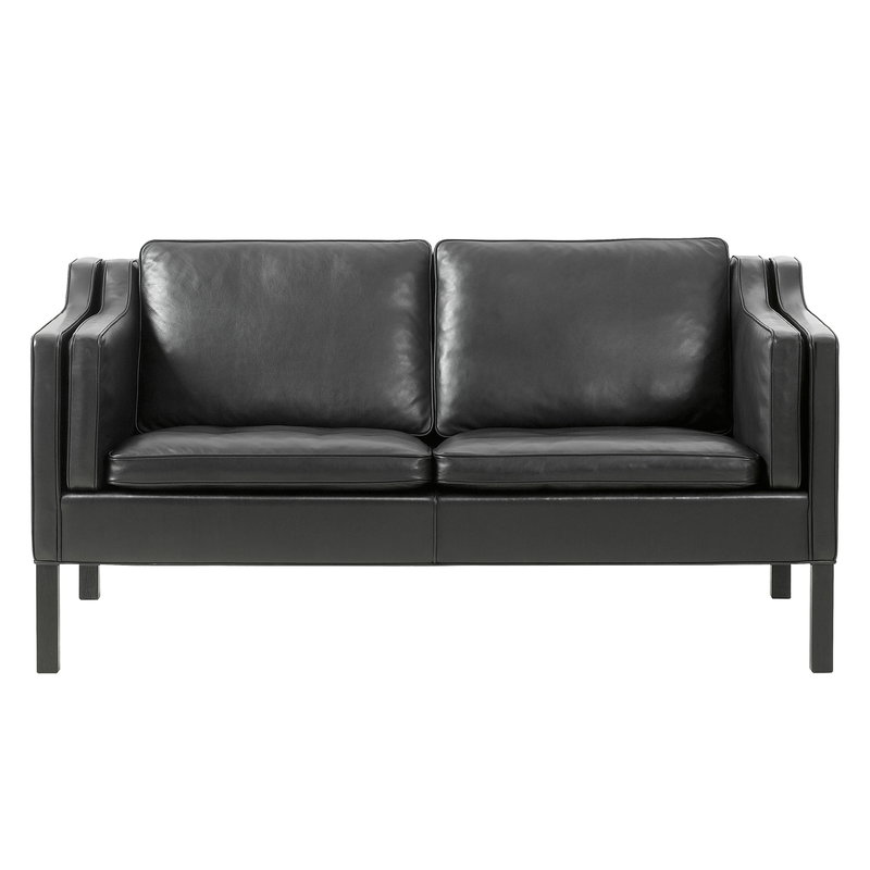 Fredericia Mogensen 2212 sohva, musta