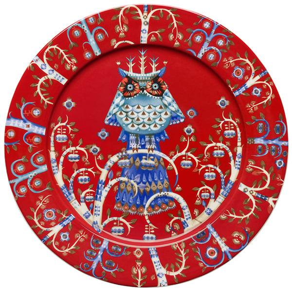 Iittala Piatto Taika 27 cm, rosso