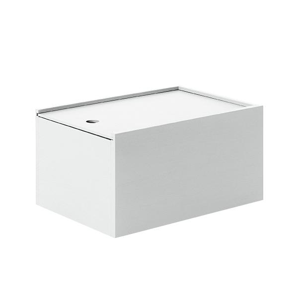 Lundia System 2 laatikko, savunharmaa