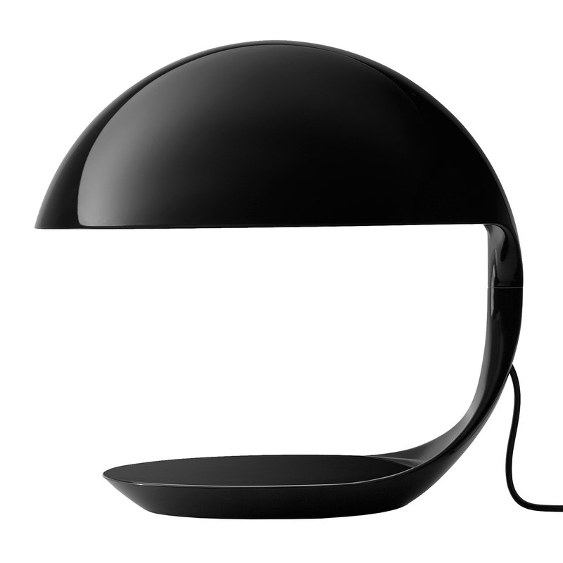 Martinelli Luce Cobra table lamp, black