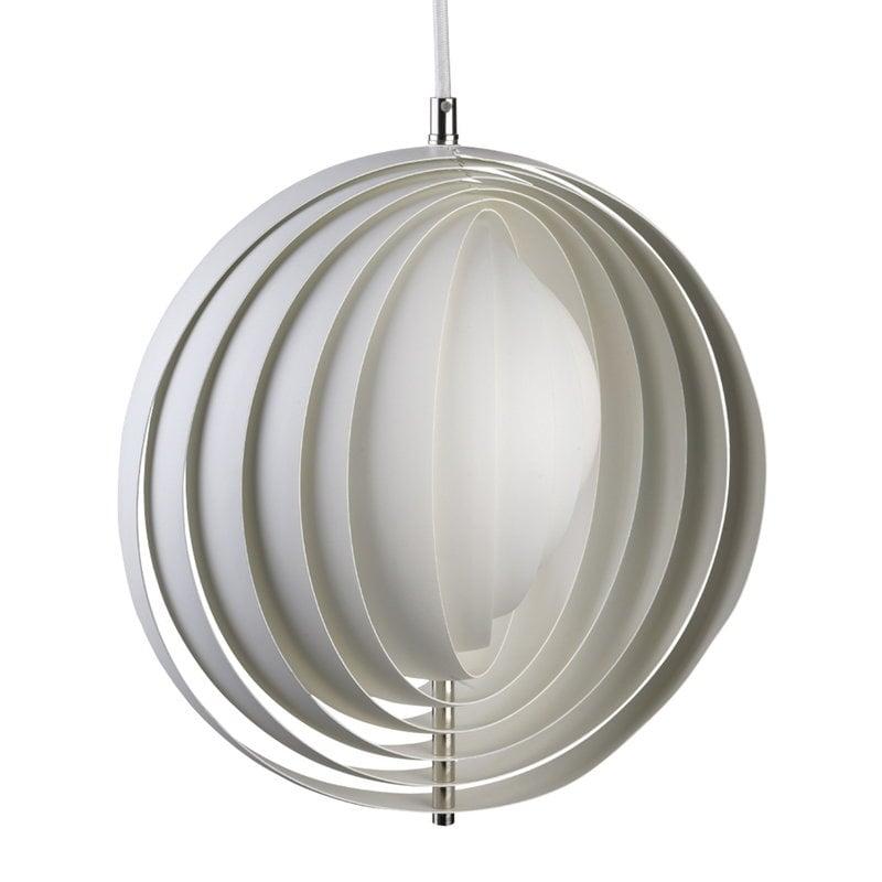 Verpan Lampada a sospensione Moon 34 cm, bianca