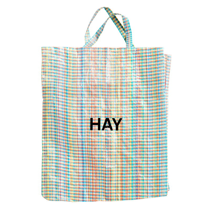 Hay Multi Check shopper, XL