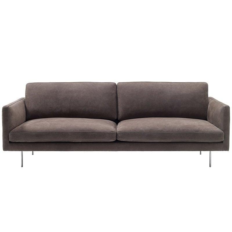 Adea Basel sofa, nubuck leather