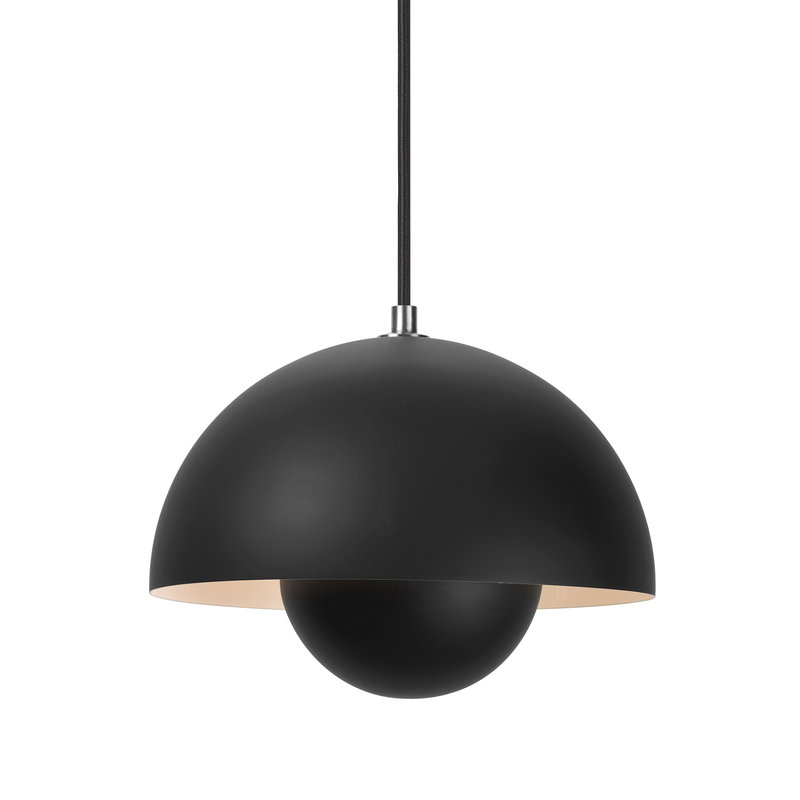 &Tradition Flowerpot VP1 pendant, matt black