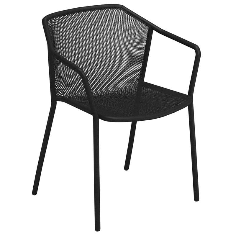 Emu Darwin tuoli, käsinojallinen, musta