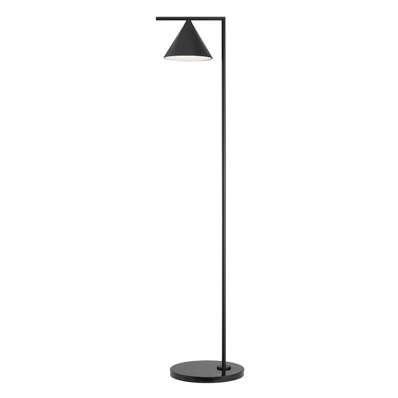Flos Lampada da terra Captain Flint, nera | Finnish Design Shop