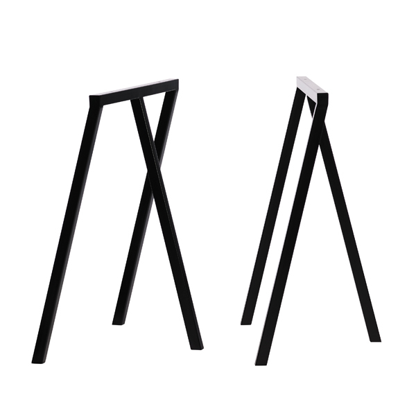 Hay Loop Stand frame, 2 pcs, black