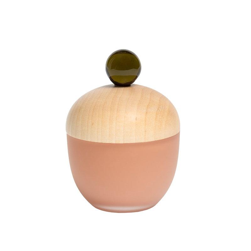Katriina Nuutinen Lyyli box, small, apricot - olive