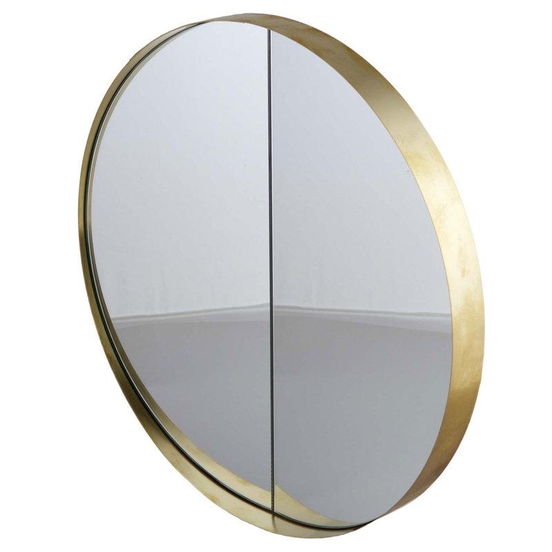 Lokal Helsinki Vino 40 mirror, brass, inward