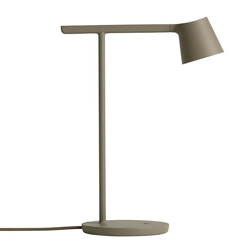 Muuto Tip table lamp, olive