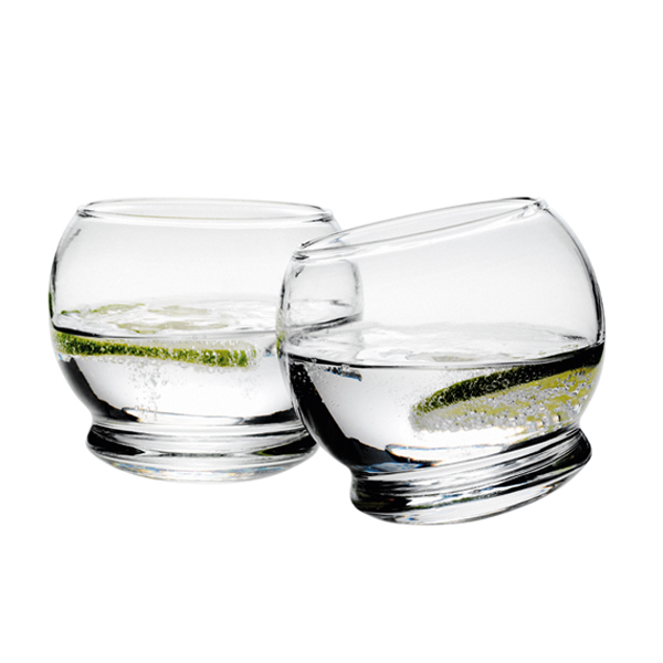 Normann Copenhagen Rocking glasses, 4 pcs