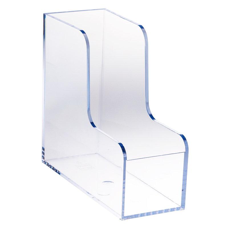 Palaset Magazine rack, clear
