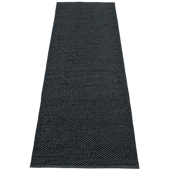 Pappelina Svea rug, 70 x 240 cm, black metallic