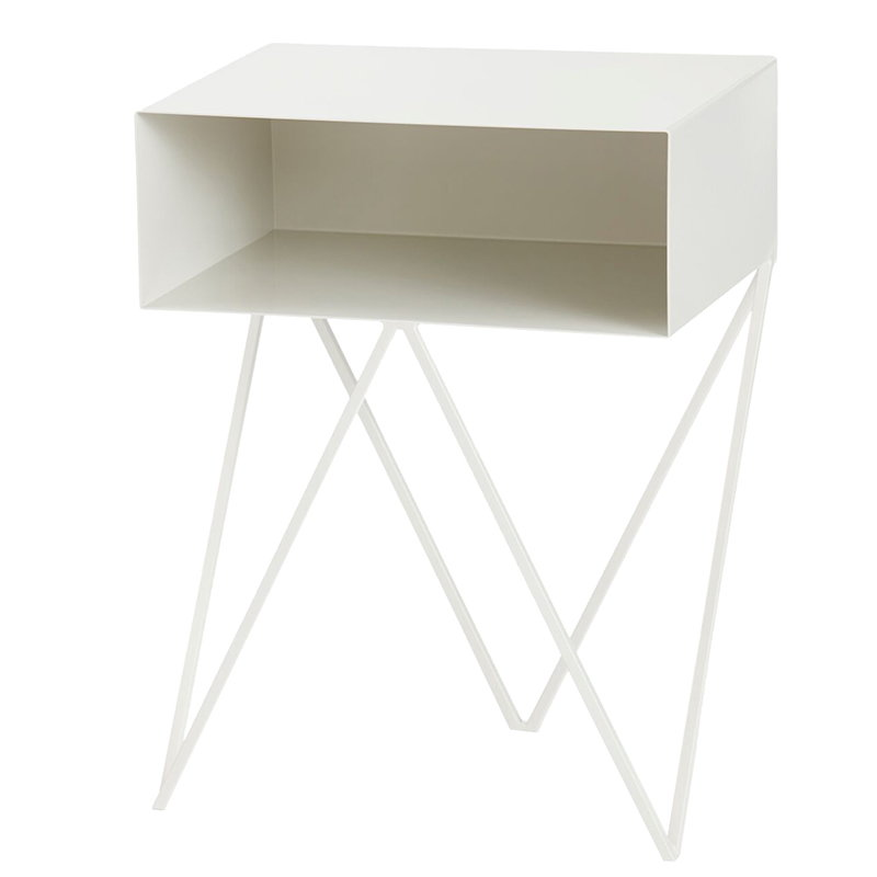 &New Robot side table, white