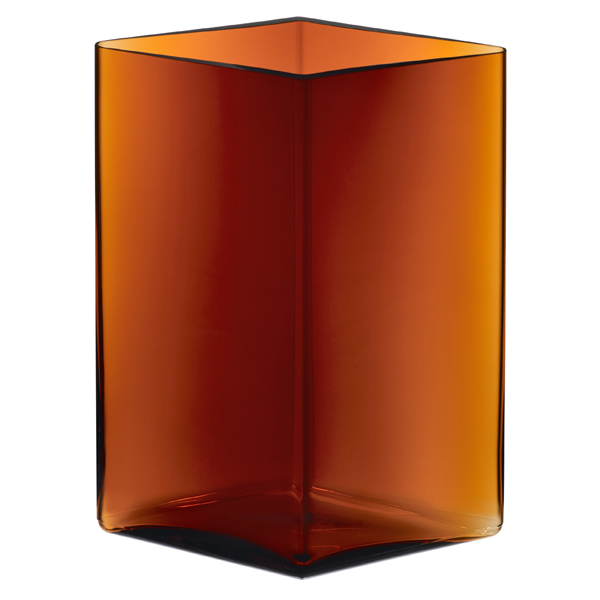 Iittala Ruutu vase, 205 x 270 mm, copper