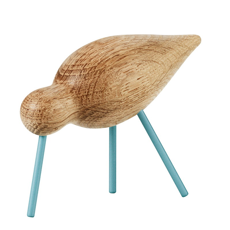 Normann Copenhagen Shorebird, medio, zampe blu