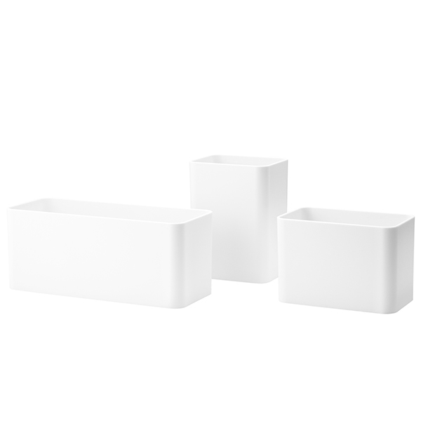 String Furniture String + organizers, 3-pack, white