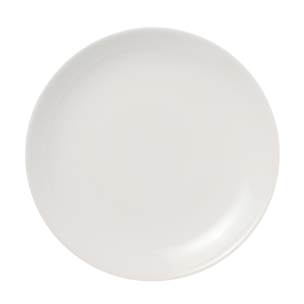 Arabia 24h flat plate 26 cm, white