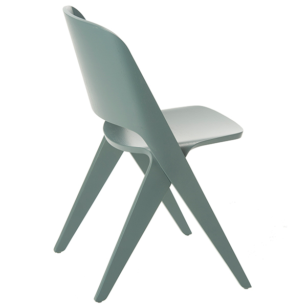 Poiat Lavitta chair, grey teal