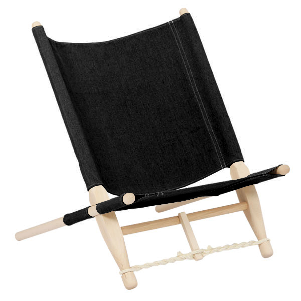 Skovshoved Møbelfabrik OGK safari chair, beech - black