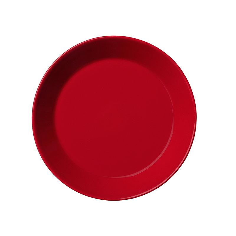 Iittala Teema lautanen 17 cm, punainen