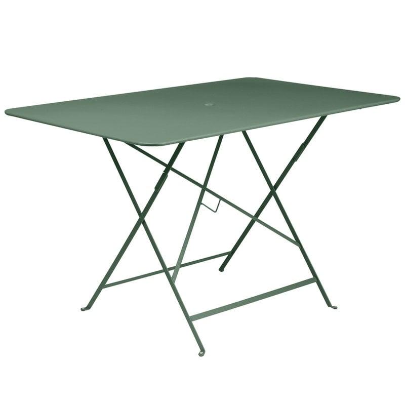 Fermob Bistro pöytä 117 x 77 cm, cedar green