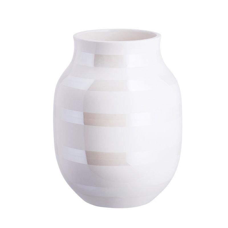 Kähler Omaggio vase, medium, pearl