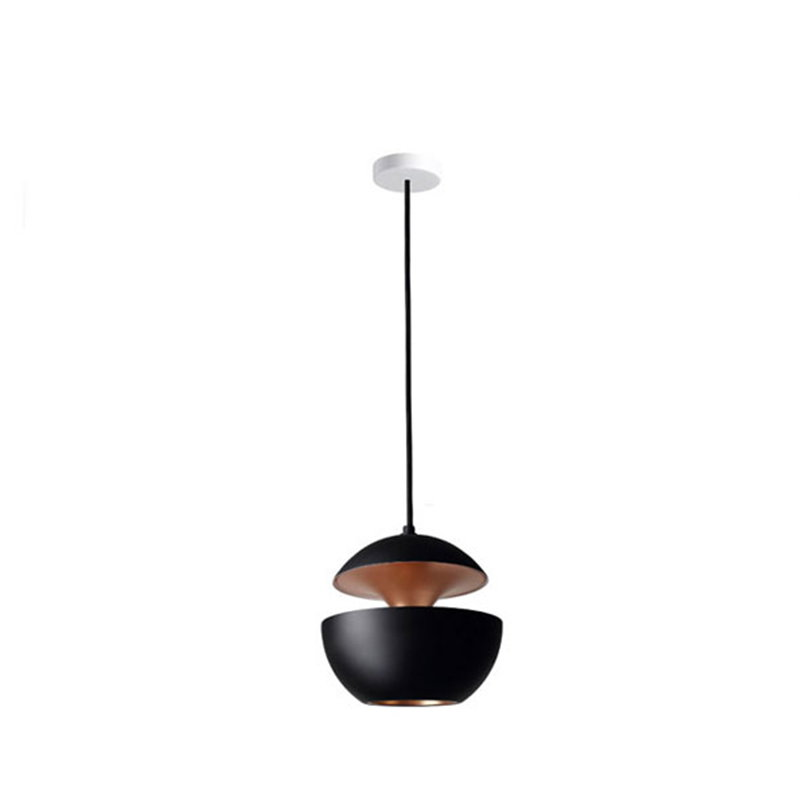 DCW éditions Lampada Here Comes The Sun 175 cm, nero-rame