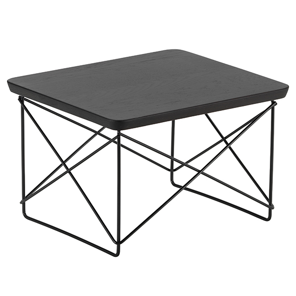 vitra eames ltr occasional table smoked oak black. Black Bedroom Furniture Sets. Home Design Ideas
