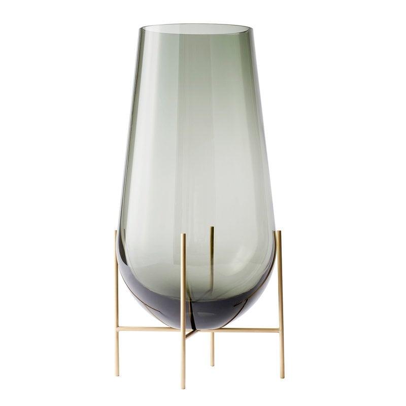 Menu Échasse vase, small, smoke