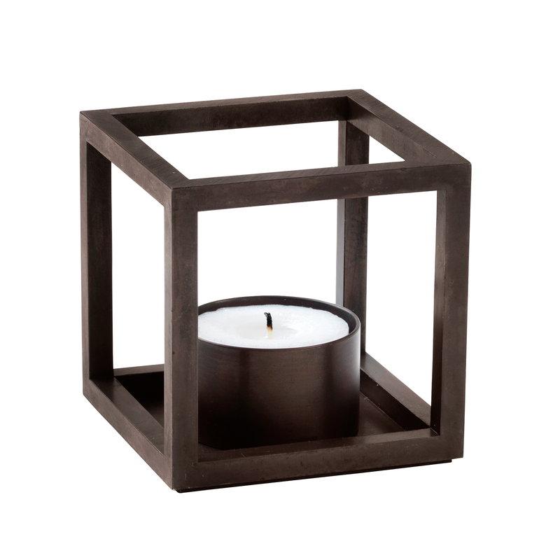 By Lassen Kubus T candleholder, burnished copper