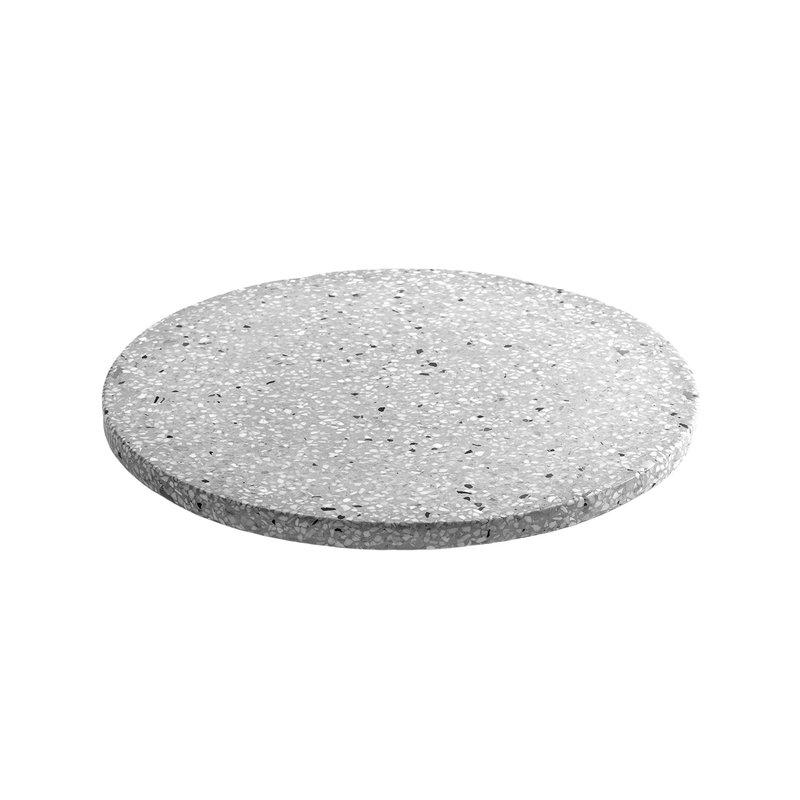Serax Terrazzo Tray Round 30 Cm Grey, 30cm Round Mirror Tray