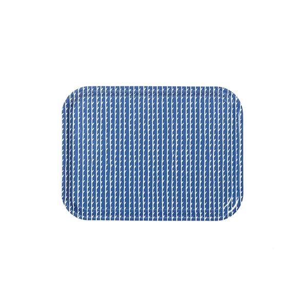 Artek Vassoio Rivi 27 x 20 cm, blu-bianco
