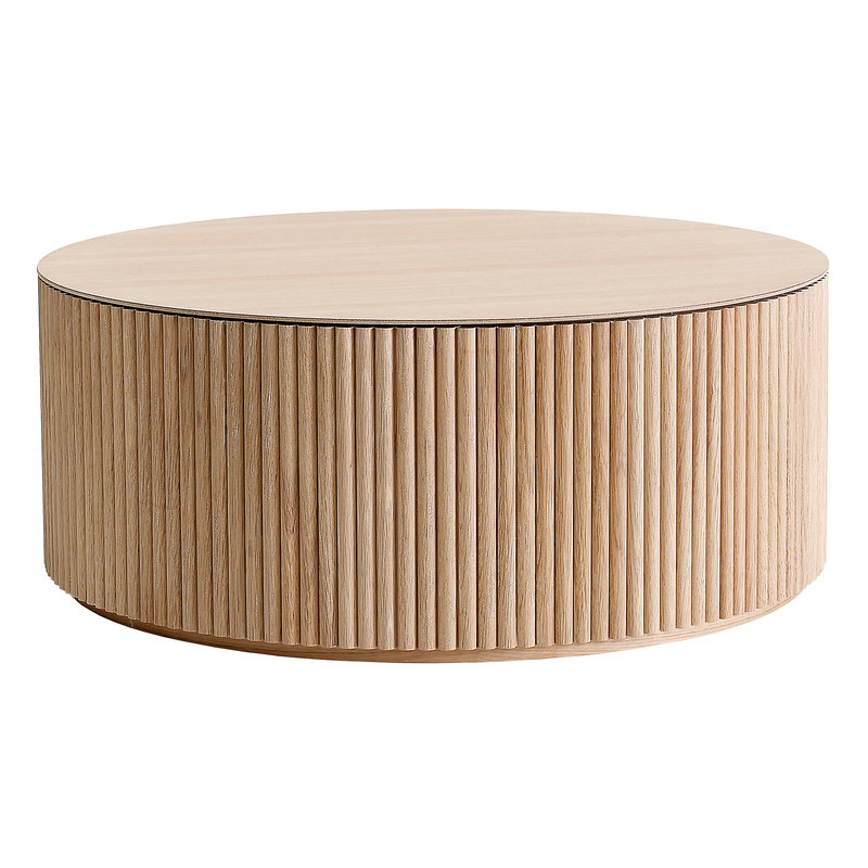 Asplund Grand Palais coffee table, white stained oak