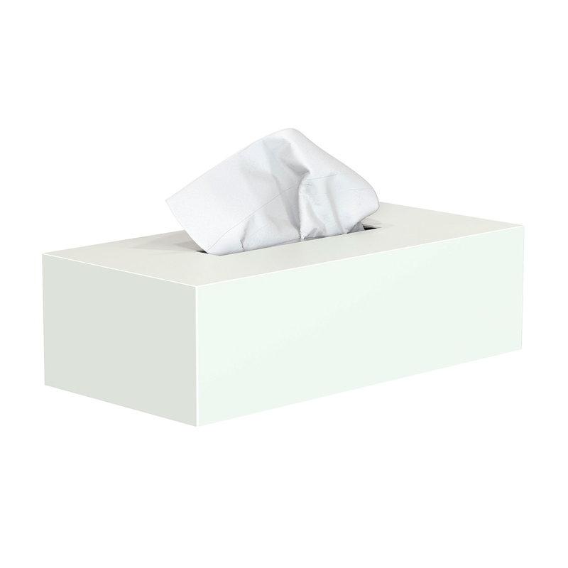 Frost Nova2 tissue box, white