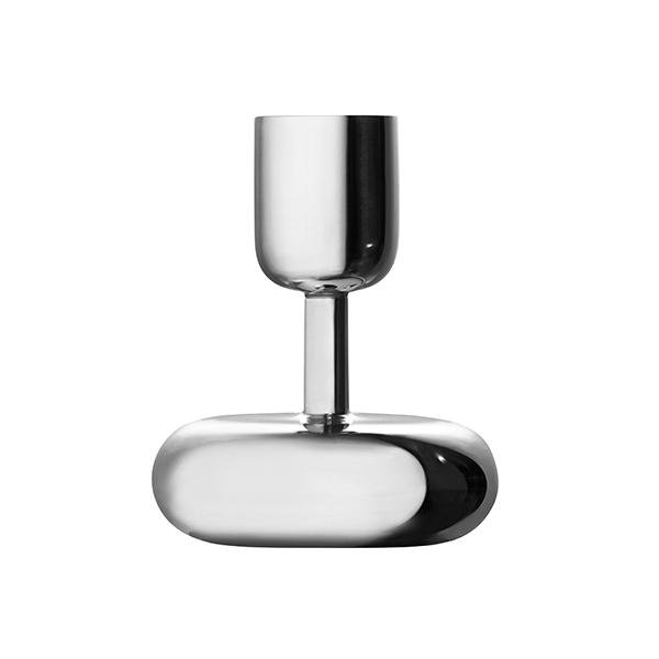 Iittala Nappula candleholder 107 mm, steel