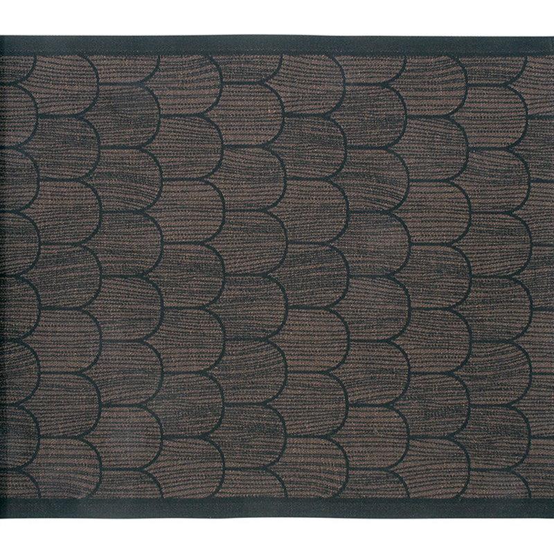 Lapuan Kankurit Paanu sauna cover 48 x 60 cm, black-brown