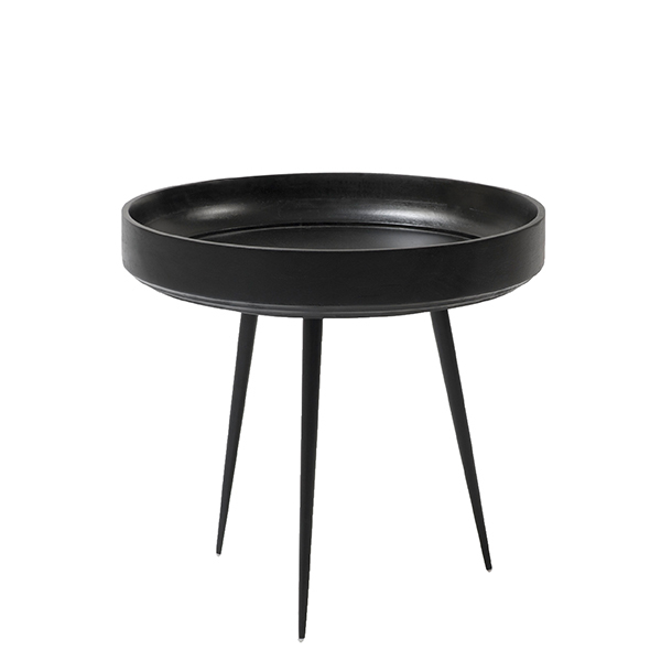 Mater Bowl pöytä, pieni, musta