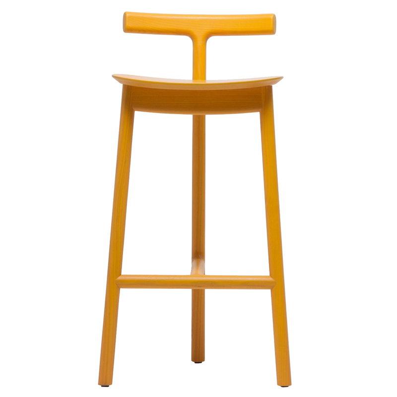 Mattiazzi Radice bar stool 65 cm, yellow