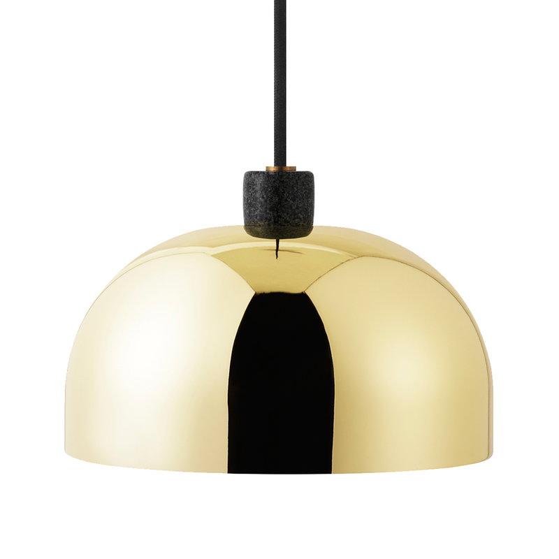 Normann Copenhagen Lampada a sospensione Grant 23 cm, ottone