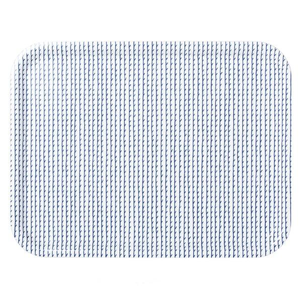 Artek Rivi tarjotin, 43 x 33 cm, valkoinen-sininen