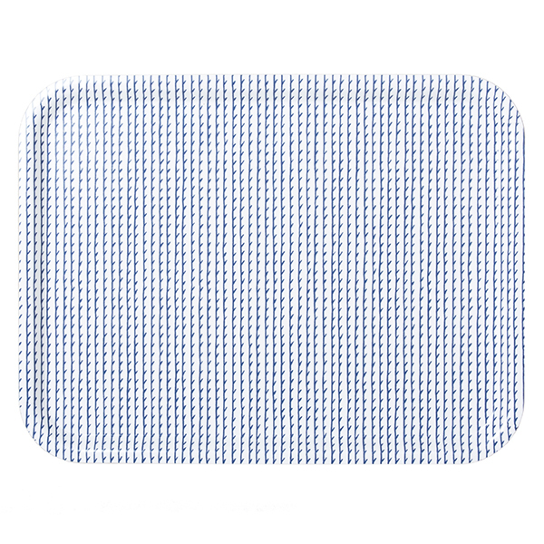 Artek Vassoio Rivi 43 x 33 cm, bianco-blu