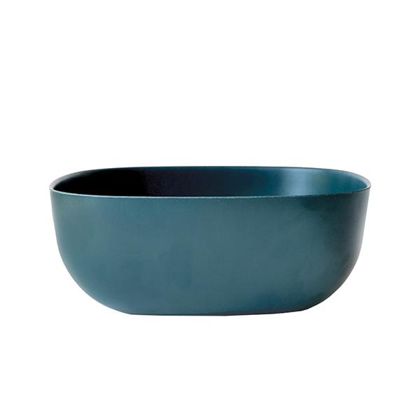 Ekobo Ciotola da portata BIOBU Gusto, blu scuro